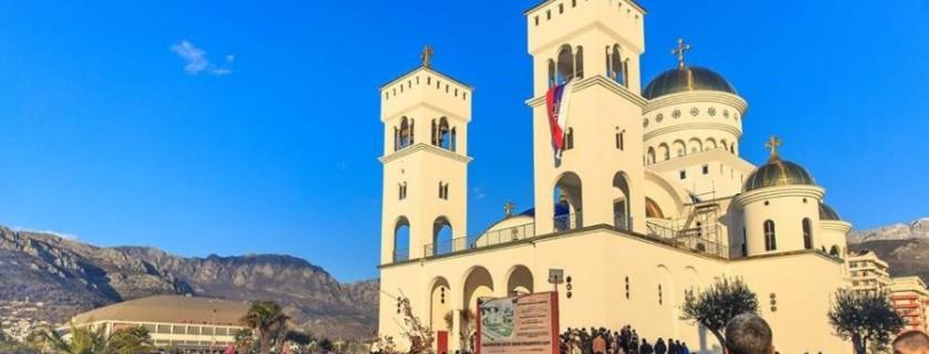 У Бару се гради Саборни храм Светог Јована Владимира