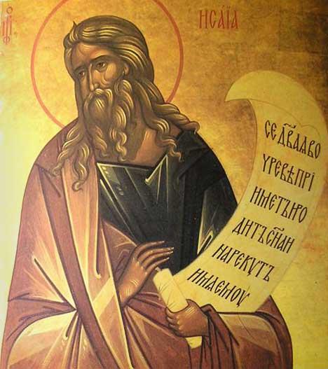 Резултат слика за Преподобни Исаија Отшелник