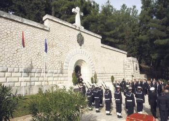 Stogodišnjica iskrcavanja srpskih ratnika na Krfu