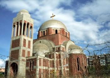 Нови инцидент на храму Христа Спаса у Приштини