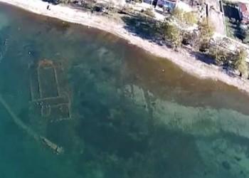 У језеру у Малој Азији пронађена XV векова стара црква