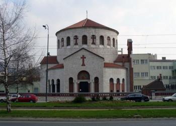 Убачена запаљива течност у оставу српске цркве у центру Сарајева