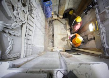 Гроб Господњи по први пут учињен доступним за археолошка испитивања