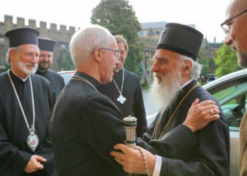 I srpski patrijarh u poseti Velikoj Britaniji – sastanak sa nadbiskupom Kanterberija