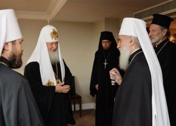 Londonski susret srpskog i ruskog patrijarha