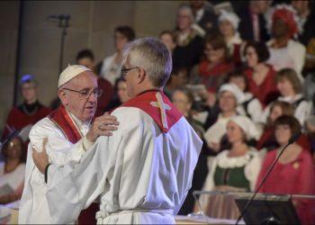 Папа Франциско у Шведској присуствовао 500. годишњици Лутерове побуне против Ватикана