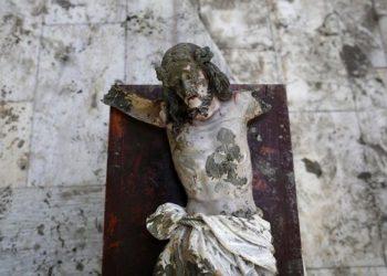 У Немачкој ове године безмало 90 напада на хришћанске споменике