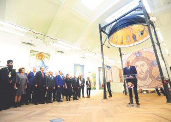 Predstavljena maketa unutrašnje dekoracije kupole Hrama Svetog Save