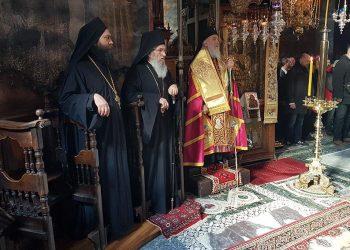 Патријарх српски Иринеј у историјској посети Манастиру Хиландар