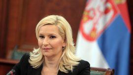 Зорана Михајловић: СПЦ да буде добар партнер у унутрашњем дијалогу о Косову и да не врши притисак на Вучића