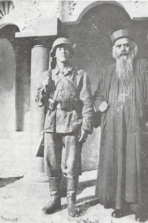 Sveti Vladika Nikolaj Srpski - konclogor Dahau