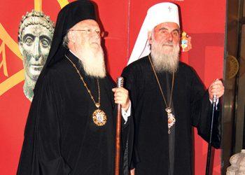 Srpski patrijarh upozorio carigradskog da ne mogu svaka nova država i nacija dobiti svoju crkvu