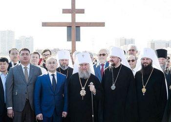 Kamen temeljac nove crkve postavljen je u Nur-Sultanu, prestonici Kazahstana