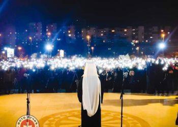 Митрополит кијевски Онуфрије након Литије у Подгорици: Човјек може бити лијеп само када живи с Богом