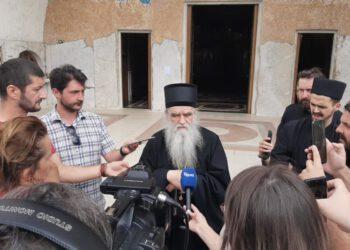 Митрополит Амфилохије: Хапшењем свештеника желе да застраше вјернике. То је злочиначки однос према народу